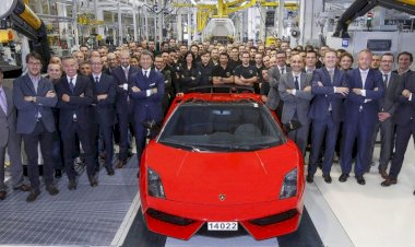 The last Lamborghini Gallardo has left the factory