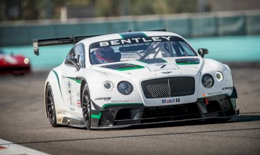 Bentley Continental GT3 - The debut