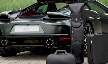 The McLaren GT Luggage Set
