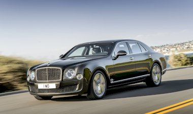 The new Bentley Mulsanne Speed