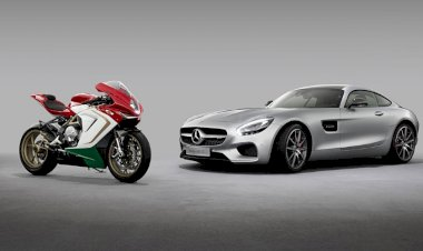 Mercedes-AMG and MV Agusta announce cooperation
