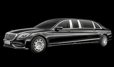 The new Mercedes-Maybach S 650 Pullman