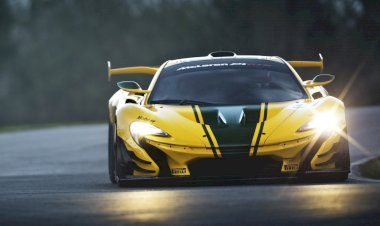 McLaren shows off the limited production form of the McLaren P1 GTR