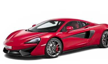 The McLaren 540C Coupé