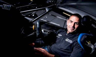Chris Harris is racing a Bentley Continental GT3