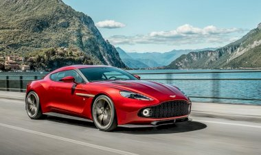 Aston Martin to build the Vanquish Zagato Coupe
