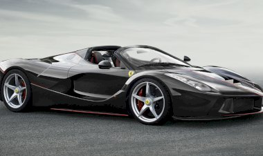 The open-top LaFerrari is here