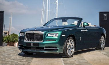 Emerald embellished Dawn and Wraith inspired by Porto Cervo