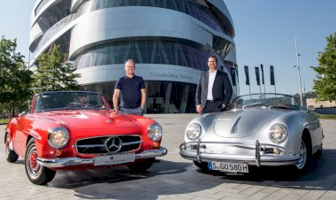 Porsche and Mercedes-Benz in unique partnership