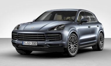 The new Porsche Cayenne