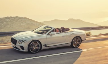The new Bentley Continental GT Convertible