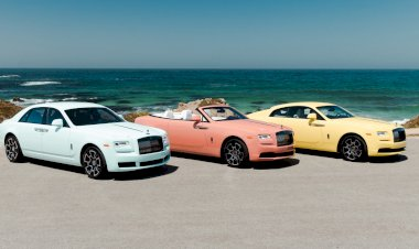 Rolls-Royce drop an explosion of colour