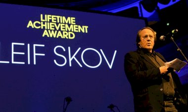 Lifetime Achievement Award goes to Leif Skov