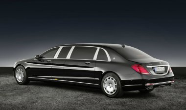 The Mercedes-Maybach S 600 Pullman