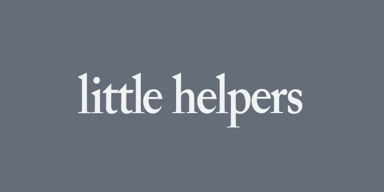 Little Helpers 364 by Butane & Barem