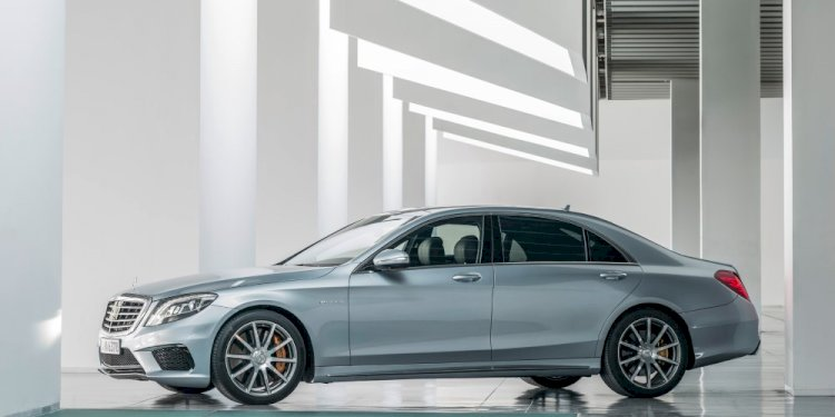 The all new S63 AMG 4MATIC. Photo by Mercedes-AMG GmbH