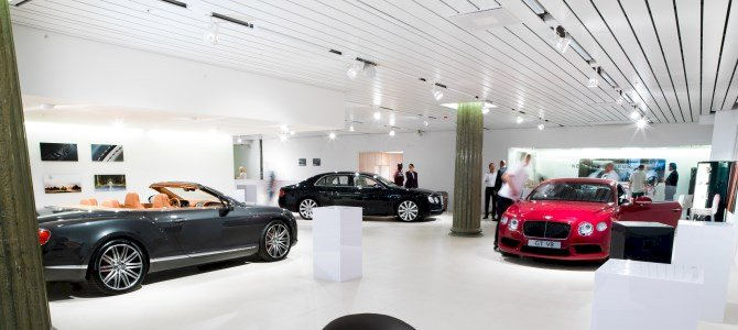 Bentley opens new dealership in Stockholm