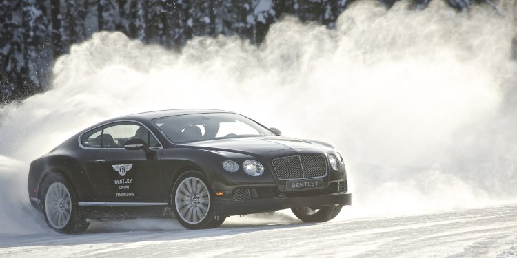 Bentley Brings More Power to the Ice in 2014