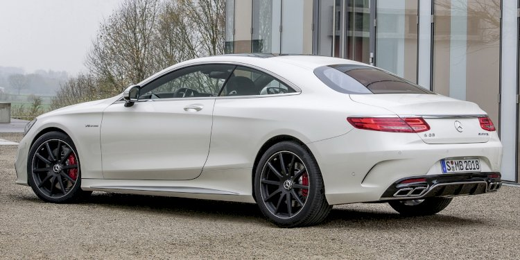 Mercedes-Benz S 63 AMG Coupé. Photo by Mercedes-AMG GmbH