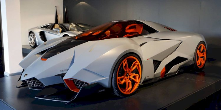 The Lamborghini Egoista: Now on Permanent Display at Lamborghini Museum. Photo by Automobili Lamborghini