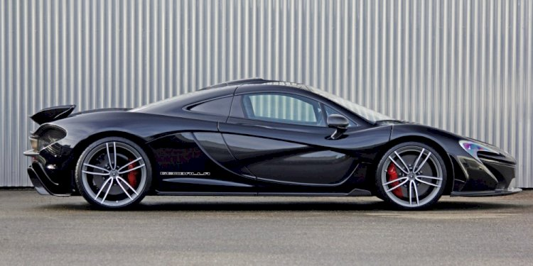Gemballa replacement wheels for the McLaren P1. Photo by Gemballa