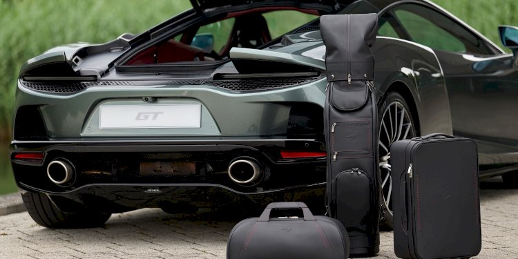 The McLaren GT Luggage Set. Photo by McLaren Automotive Limited
