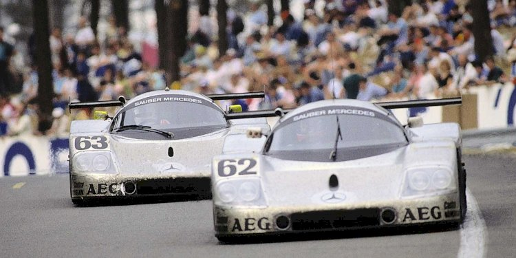 25 years ago: double victory for Mercedes-Benz in the 24 Hours of Le Mans