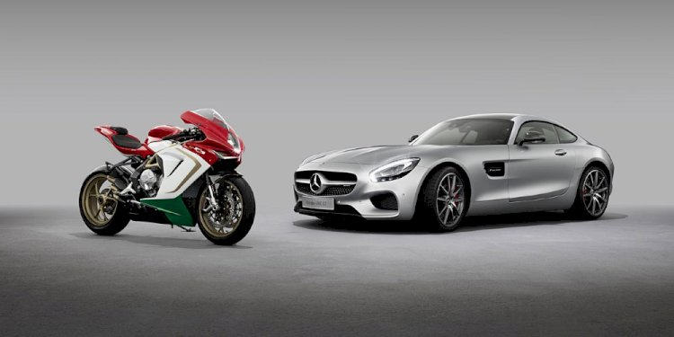 Mercedes-AMG and MV Agusta announce cooperation. Photo by Mercedes-AMG GmbH