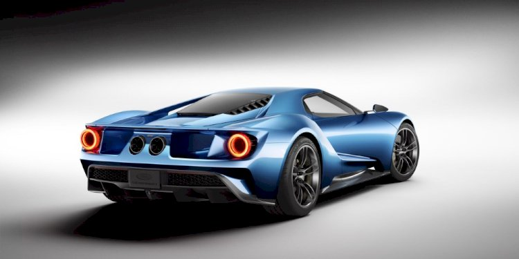 The New Ford GT. Photo by Ford