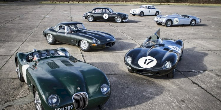 Jaguar presents the Jaguar Heritage Challenge