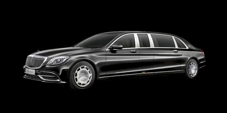 The new Mercedes-Maybach S 650 Pullman. Photo by Mercedes-Maybach