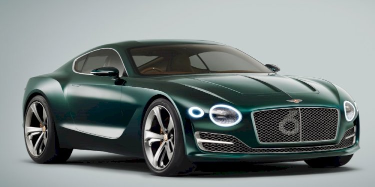 Bentley EXP 10 Speed 6 Concept. Photo by Bentley Motors