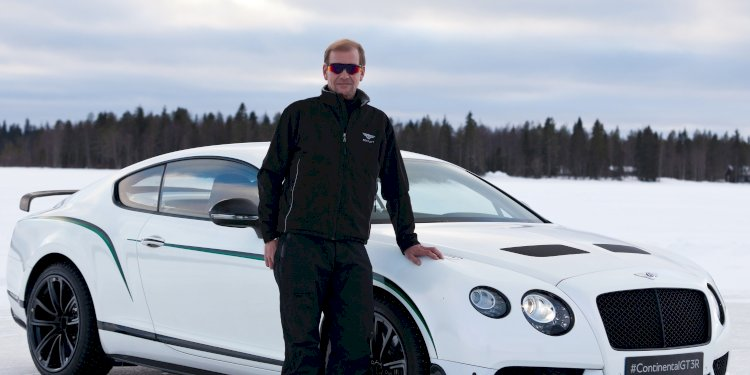 2015 - The Most Powerful Year Yet For Bentleys Power On Ice. Photo by Bentley Motors