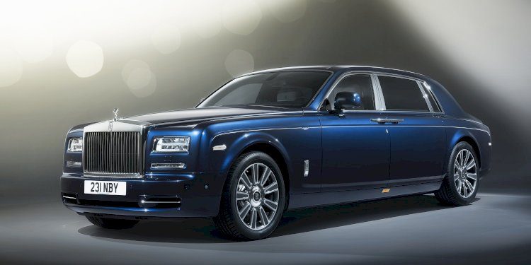 Rolls-Royce Phantom Limelight Collection. Photo by Rolls-Royce Motor Cars