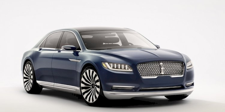 Lincoln Continental Concept. Photo by Lincoln Motor Company