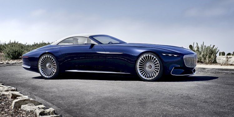 Vision Mercedes-Maybach 6 Cabriolet. Photo by Mercedes-Maybach