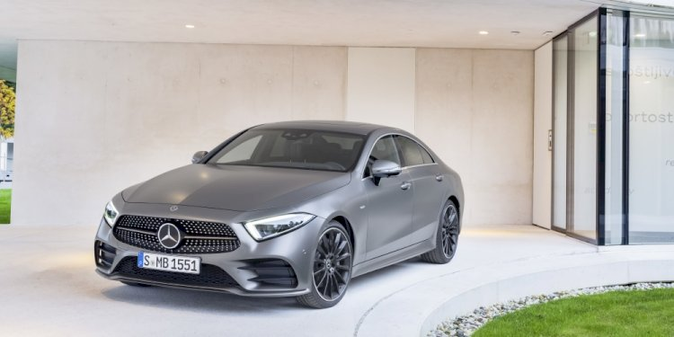 The new Mercedes-Benz CLS. Photo by Mercedes-Benz Daimler AG