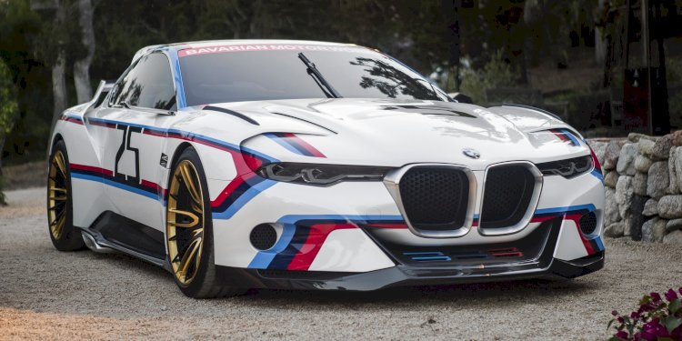 BMW 3.0 CSL Hommage R. Photo by BMW Group
