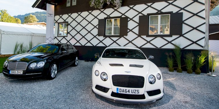 Bentley opens first mountain lodge in Kitzbühel