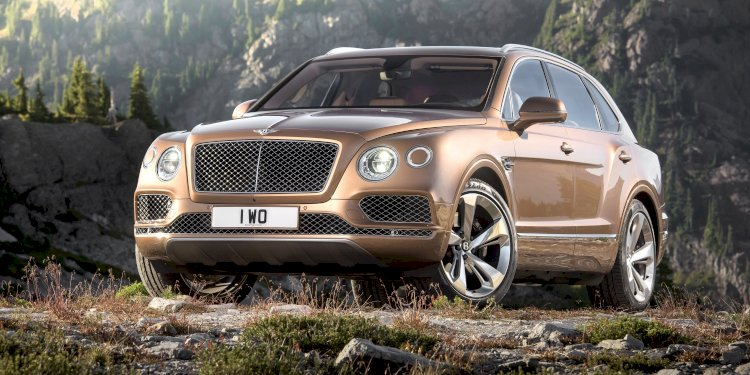 The Bentley Bentayga