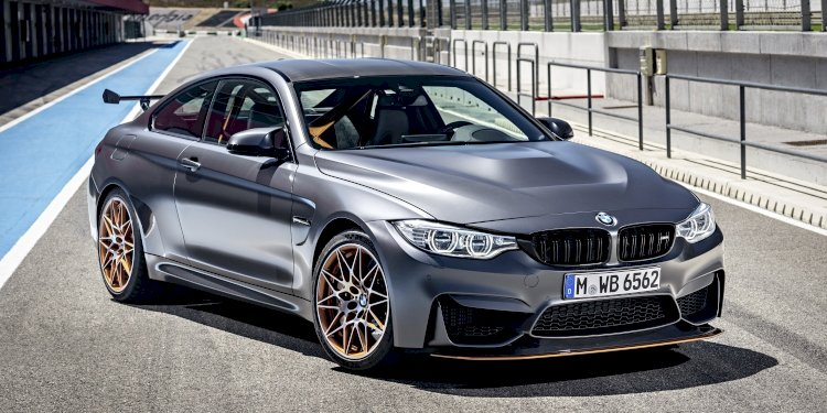 The new BMW M4 GTS. Photo by BMW Group
