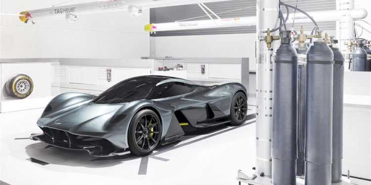 Codename AM-RB 001. Photo by Aston Martin Lagonda Limited