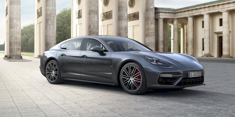Porsche Panamera - The sports car among luxury saloons. Photo by Porsche AG