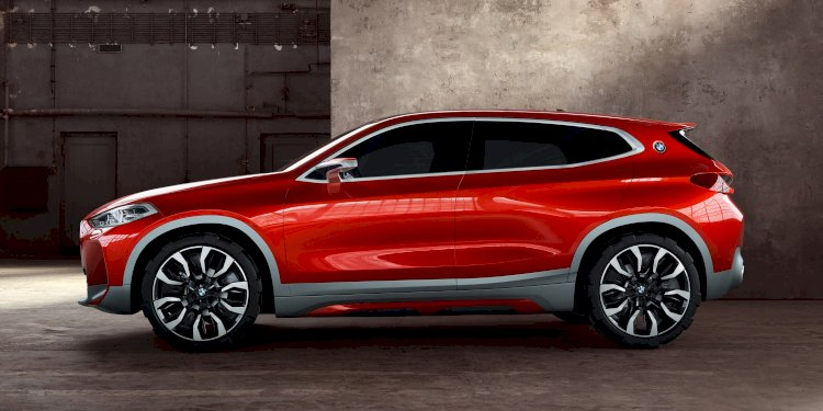 BMW Concept X2. Photo by BMW Group