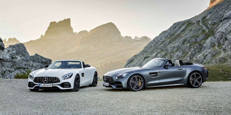 Mercedes-AMG GT Roadsters. Photo by Mercedes-AMG GmbH