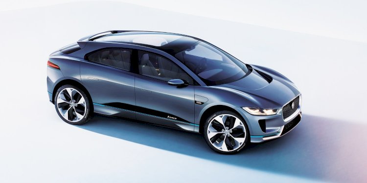 Jaguar I-PACE Concept. Photo by Jaguar Land Rover