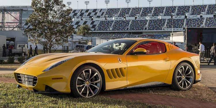 Ferrari SP 275 RW Competizione. Photo by Ferrari