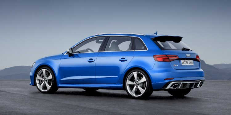 Audi RS 3 Sportback. Photo by Audi AG