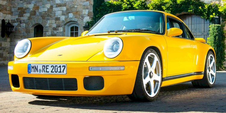 The new RUF CTR. Photo by RUF Automobile GmbH