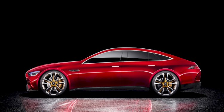 Mercedes-AMG GT Concept. Photo by Mercedes-AMG GmbH